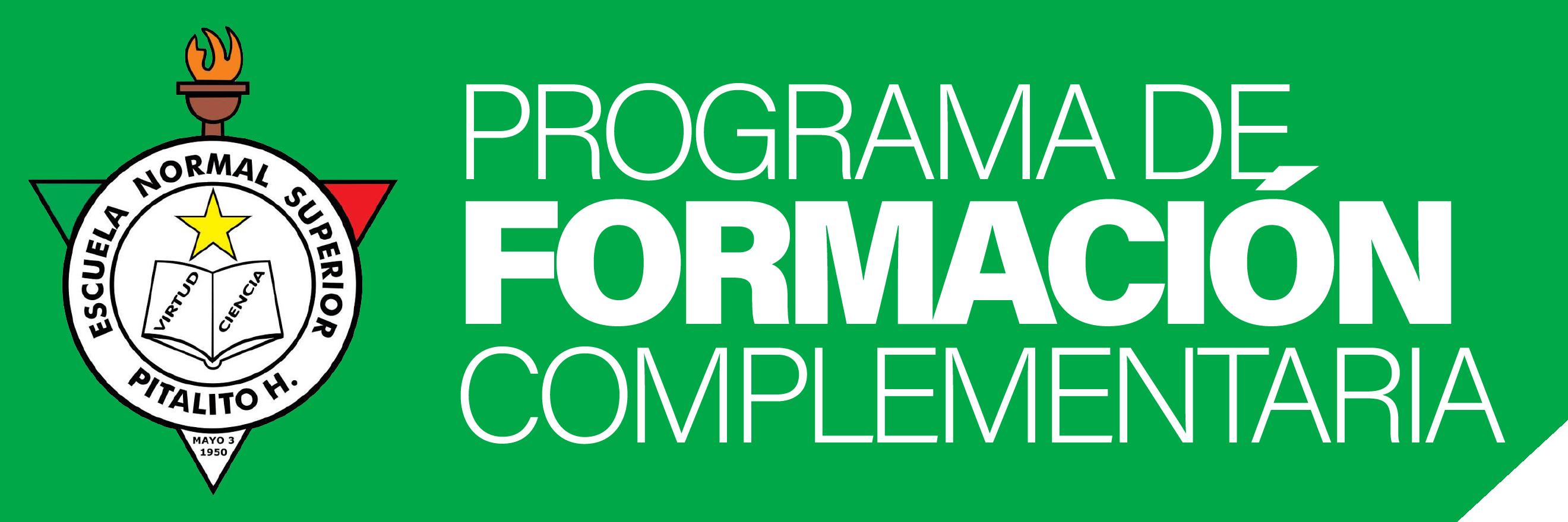 Programa Formación Complementaria Logo